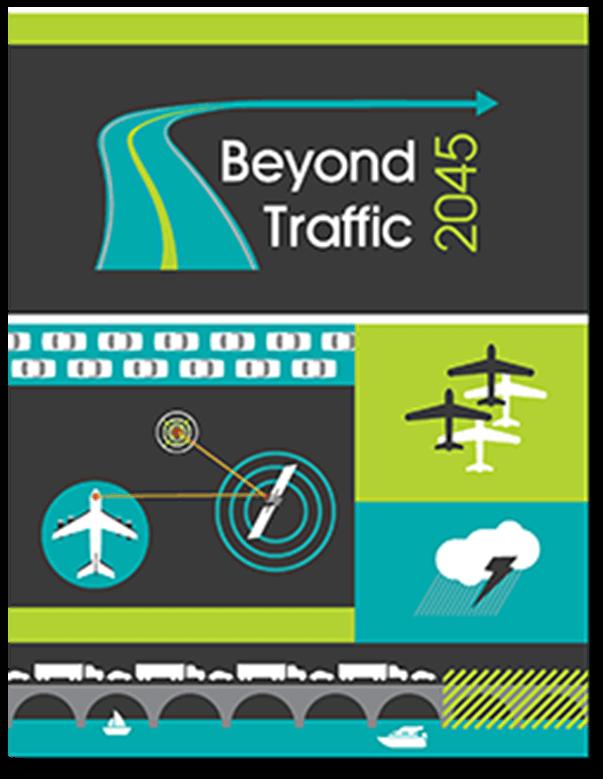 "Beyond Traffic 2045"" brochure cover"